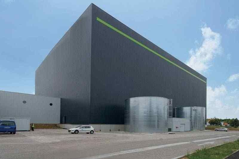 Cical usine bâtiment industriel