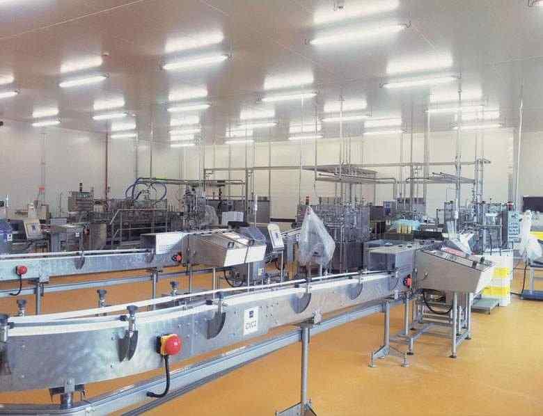 Cical ligne production glaces erhard