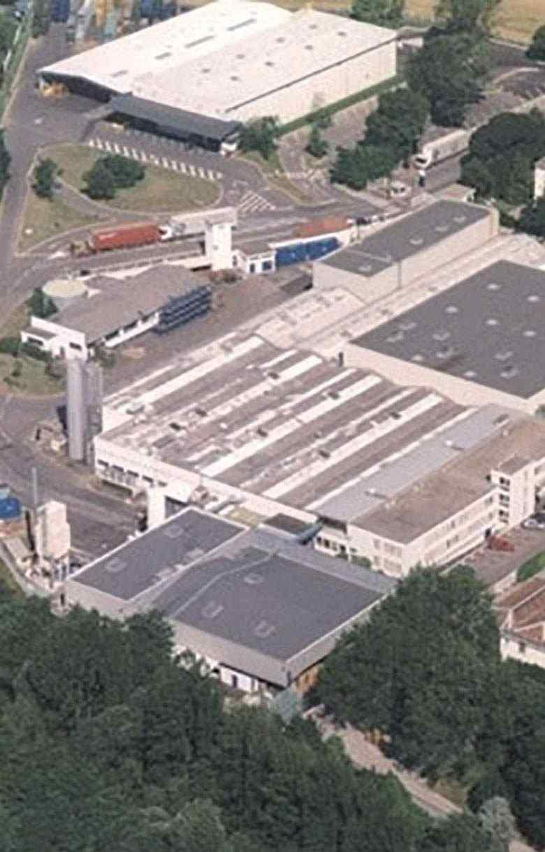Cical vue aérienne usine production Inergy