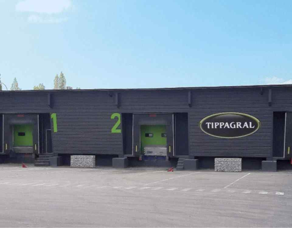Cical entrepôt camions Tippagral