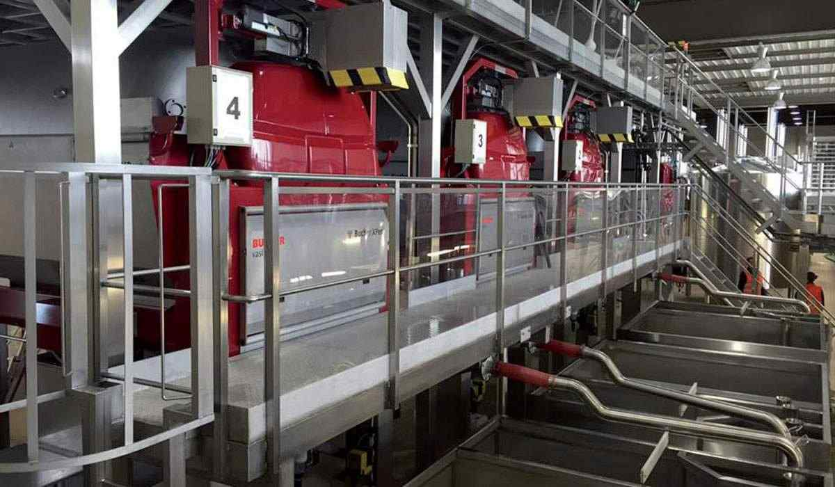 Cical usine production vin raisin Val du Clos