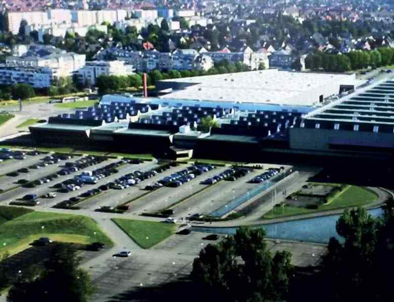 Cical vue aérienne usine Clestra