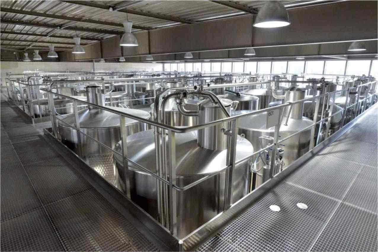 Cical usine cuve industrielle