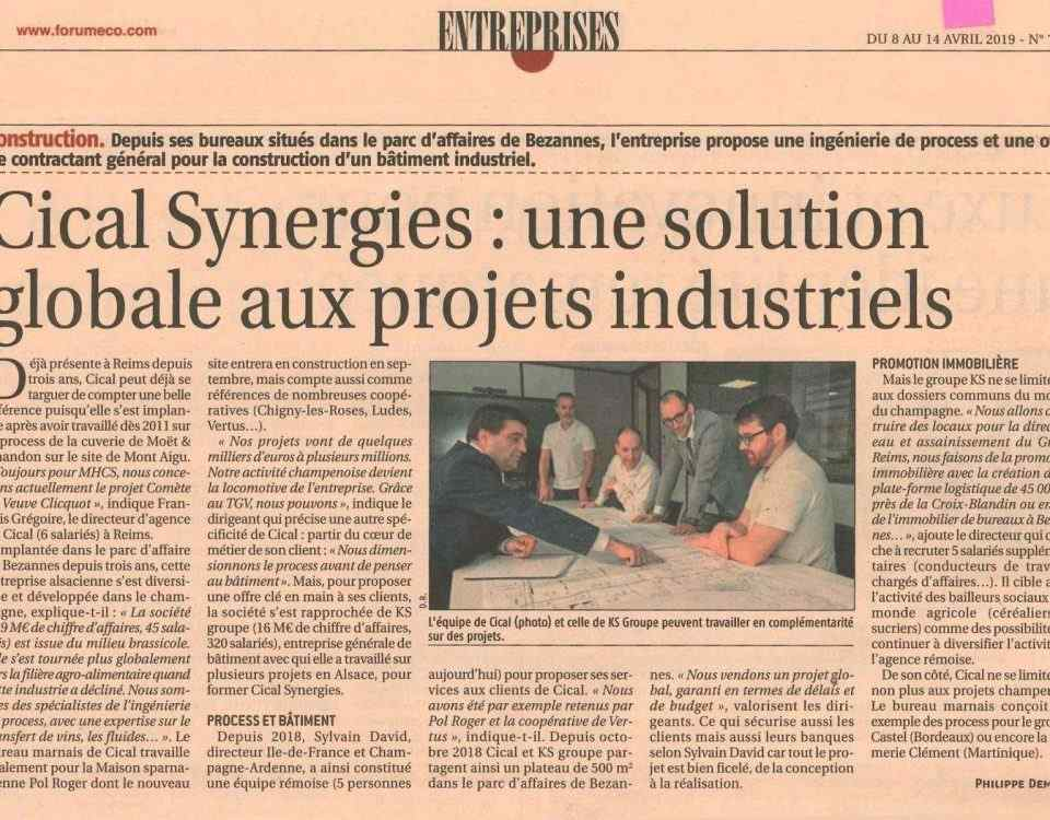 article Cical synergies